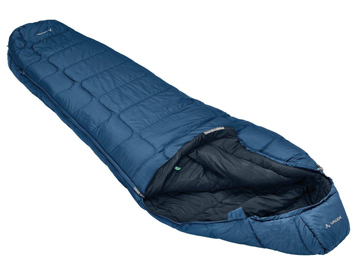 Vaude Sioux 800 SYN, Saco de Dormir con cremallera a la derecha , color azul (baltic sea), tamaño 220 x 80 x 55 cm: Amazon.es: Deportes y aire libre
