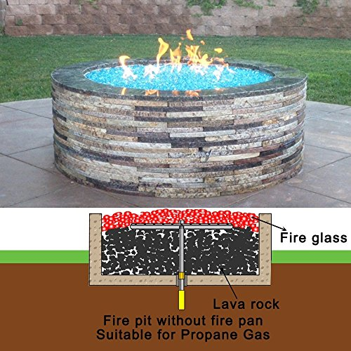 Buy natural gas fire pit