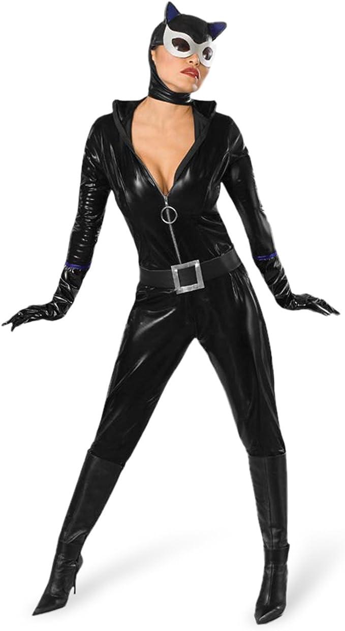 Sexy-Disfraz de Batman Catwoman con máscara y completo de precios ...