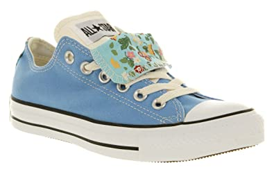 3fc828f62e3d Converse All Star Ox Low Double Tongue Caroline Blue Floral Smu - 5 ...
