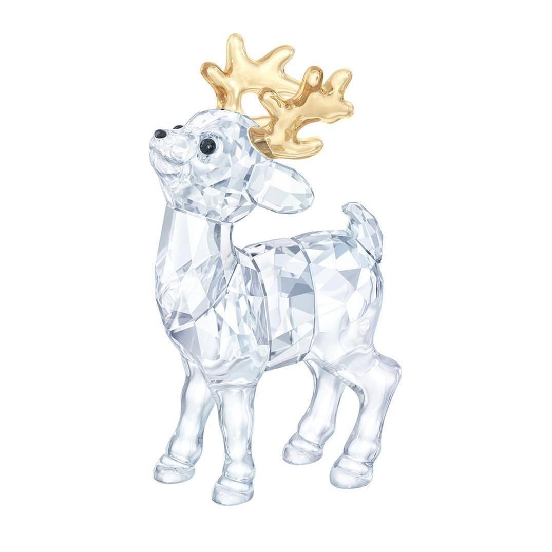 Swarovski Crystal Baby Reindeer Figurine