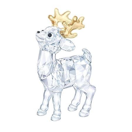 Swarovski Santa S Reindeer, 1-5 8 x 2-7 8 x 1-3 4 5223261