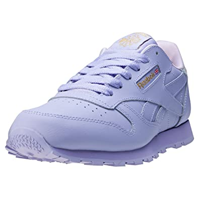 Reebok Classic Leather BD5543 Enfant mixte Baskets Violet mPAP9k3