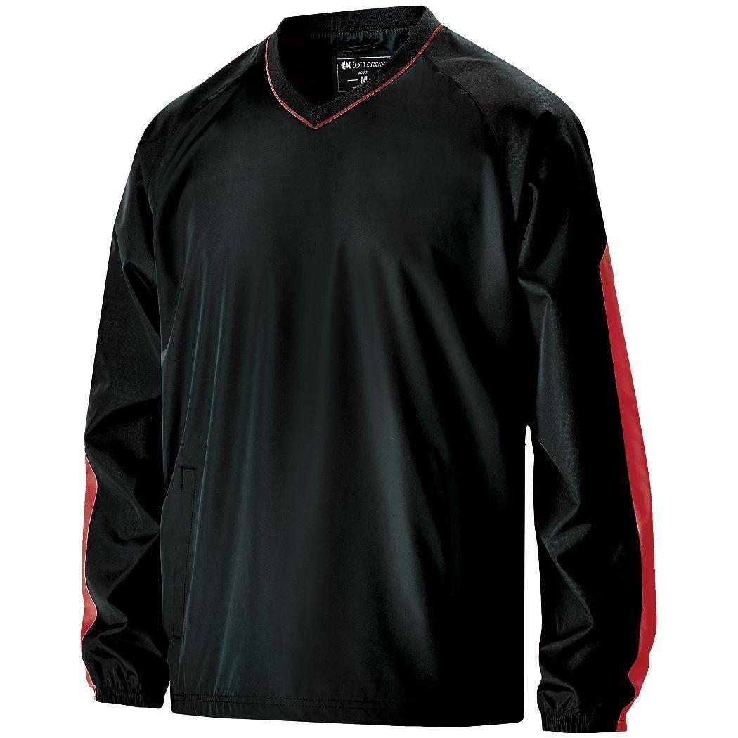 Men 's Bionic Windshirt Hollowayスポーツウェア B012KBH1P8 XX-Large Black/ Scarlet Black/ Scarlet XX-Large
