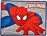 Marvel Ultimate Spiderman Rug Web-Slinger Printed Kids...