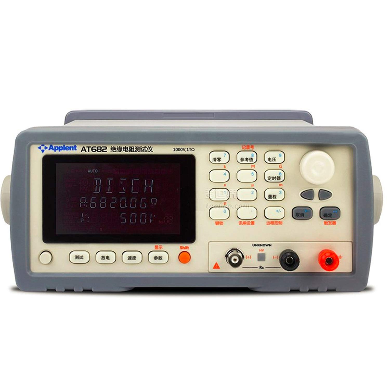 Digital Tester Meter High Resistance Meter AT682 Digital Insulation Resistance Tester Can Direct Readout of Resistance and Current Electrical Tester