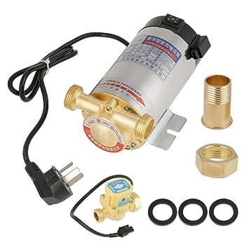 Tutoy 100W//150W Wasserdruck Verst/ärkerpumpe Dusche Home Electric Automatische Edelstahl-Wasserpumpe 100W