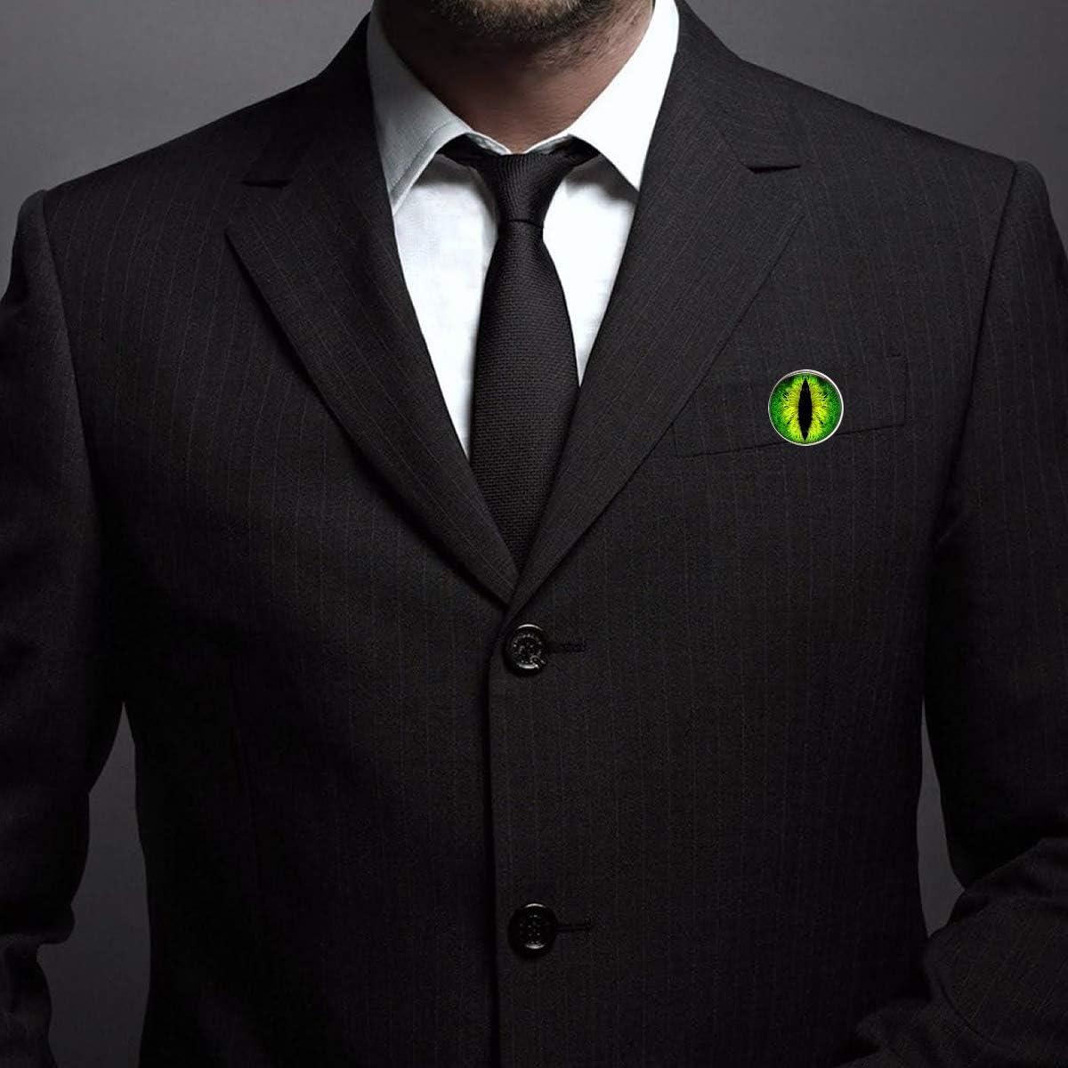 Pinback Buttons Badges Pins Evil Dragon Eye Lapel Pin Brooch Clip Trendy Accessory Jacket T-Shirt Bag Hat Shoe