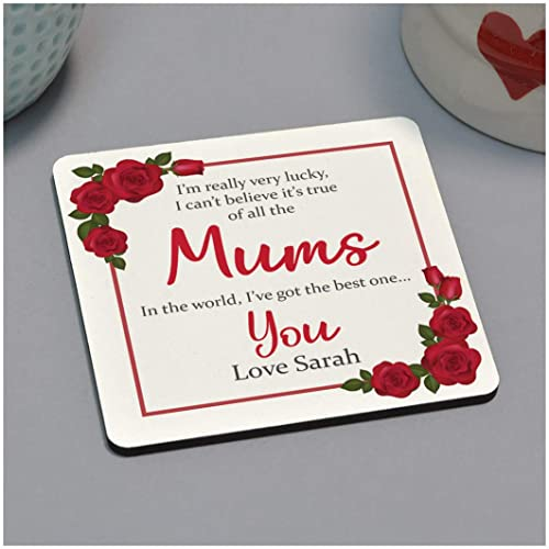 Personalised Most Amazing Mummy Coaster Gift Birthday Present Idea For Mummy