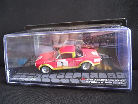 Rally Model Car IXO 1: 43 Fiat Abarth 124 Rally R. Pinto – Rally