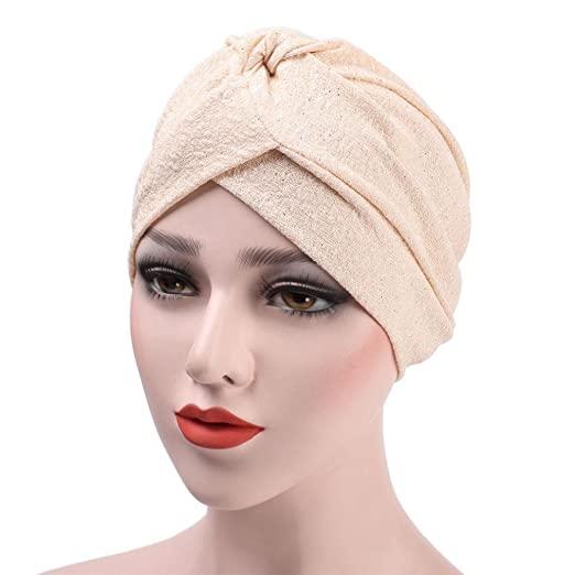 Amazon.com: ink2055 Ladies Turban Hijab Headwrap Soft Cotton Solid Color Indian Style Hat Cap: Clothing