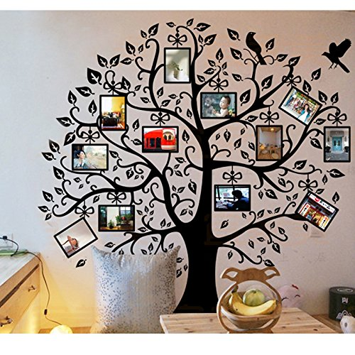 Homecube 96 X 96 Xxl Huge Removable Decal Photo Picture Frame