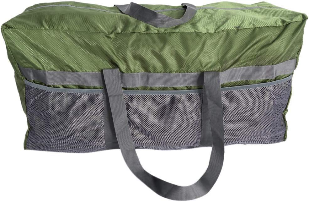 Inzopo Large Tent Compression Storage Bag Duffel Bag 80x30x40cm for Camping Awning Canopy Tarp Shelter Organizer Holder Outdoor Sports