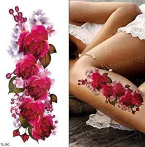 tzxdbh 3 Unids-Púrpura Tatuaje Tatuaje Impermeable Tatuaje Mujer ...