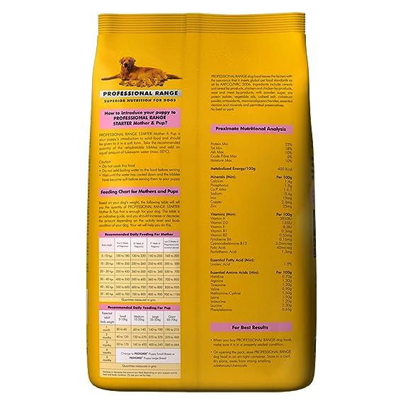 Pedigree Professional Starter Mother & Pup Dog Food, 3 kg Pack