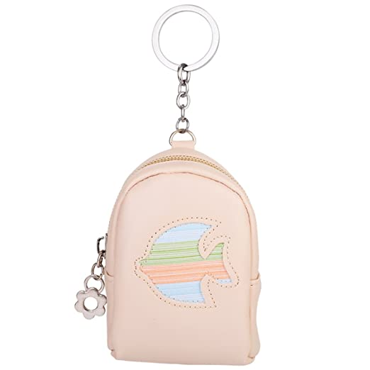 Amazon com: ZOONAI Backpack Coin Purse Wallet Keychain PU