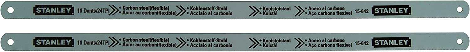 Stanley 0-15-842 Hoja Lion Carbono, Acero inoxidable