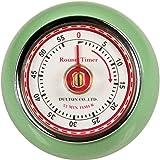 Eddingtons Mint Green Retro style Kitchen timer with magnet