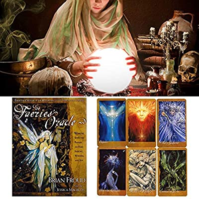 hemistin The Faeries' Oracle Cards - The Oracle: 66 Tarot Cards Set: Home & Kitchen