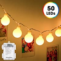DecorNova 16.4-foot 50-LED Globe String Light Set