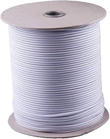 per teloni in gomma Corda elastica grigia 20 m 10 ganci a spirale 8 mm