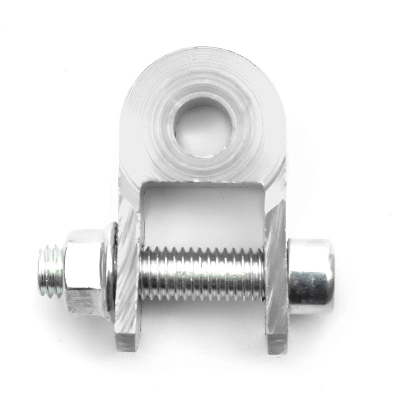 Pitbike Dirtbike 3cm Shock Absorber Extender Riser Jack Up Kit Alloy Silver 15mm Fitting