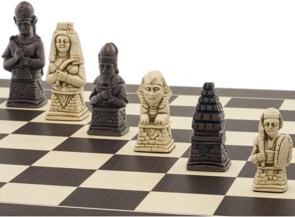 Berkeley Chess Egyptian Russet Chess Men
