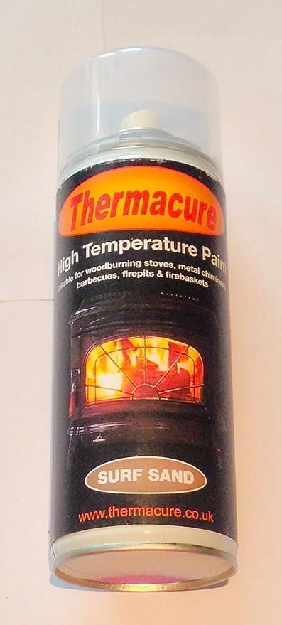 Alta temperatura metálico Thermacure Surf arena calor Spray de pintura- estufa, BBQ