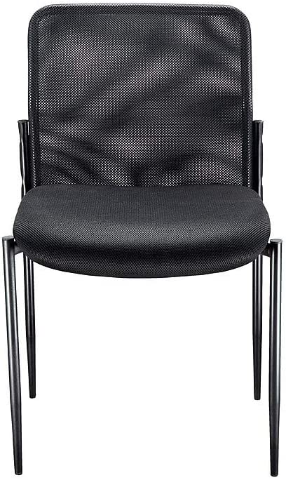 HON Scatter Guest Chair – Upholstered Stacking Chair with Arms, Office Furniture, Charcoal HVL616