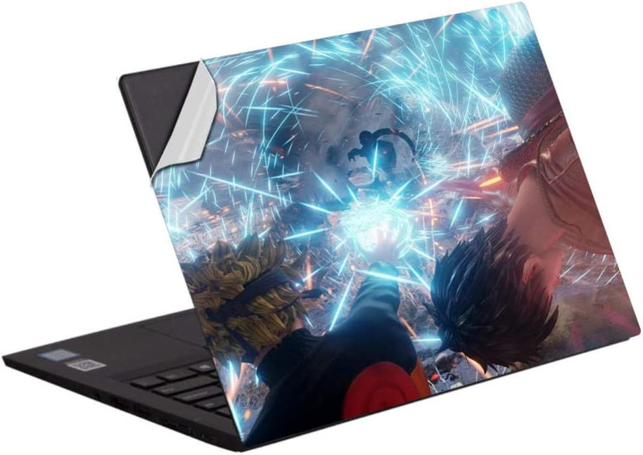 Laptop Skins 2 Pieces Anime Naruto Laptop Skin Vinyl Decal 15.6 inch 15 inch 13-14 inch Full Cover Anti-Scratch Notebook Cover Protective Skin-Uzumaki Naruto 15.6 inch