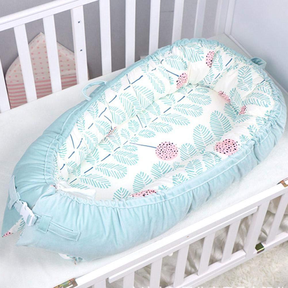 para Dormir 8050cm 0-2 A/ños funny feng Cama Nido de Beb/é Reci/én Nacido para Acurrucarse Reductor Protector de Cuna Cama de Viaje