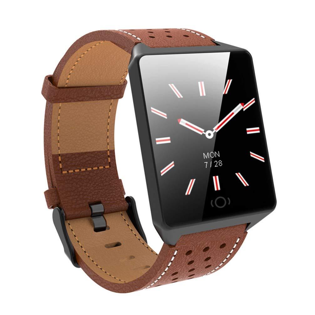 AUOKP Reloj Inteligente Monitor de Ritmo cardíaco Presión ...