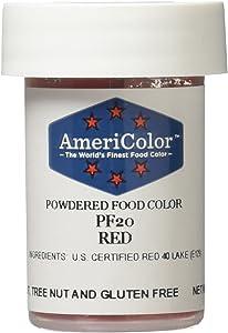 Americolor Powder Food Color, 3gm, Red