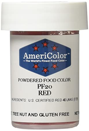 Amazon.com: Americolor Powder Food Color, 3gm, Red: Kitchen & Dining