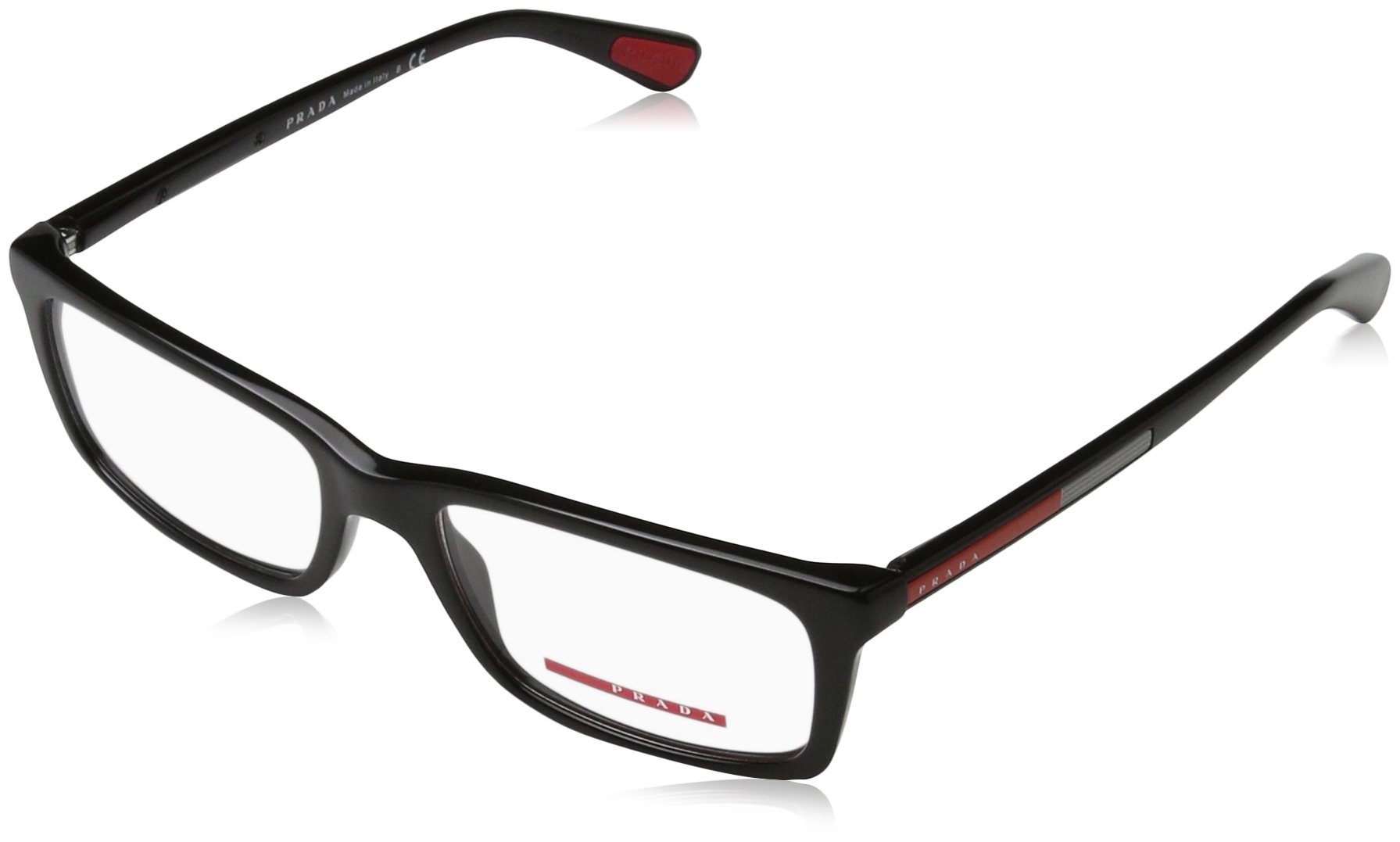 Prada PS02CV 1AB1O1 Men's Eyeglasses Black 53mm by Prada