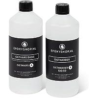 Epoxy Resin Giethars | 800 gram | 2K Epoxyhars UV | Resin Art | Sieraden, onderzetteters, tafels, vloeren, hout…