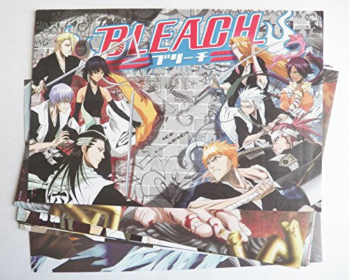 8-pcs-Anime-Manga-Bleach-Characters-Poster-Prints-Set-US-Seller