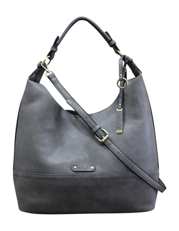 Simply Noelle Fifth Avenue, Hobo Handbag (Steel)