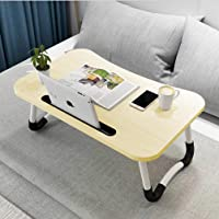 Widousy Laptop Bed Table, Breakfast Tray with Foldable Legs, Portable Lap Standing Desk, Notebook Stand Reading Holder…
