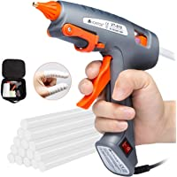 V VONTOX Lijmpistool, 100W Niet Mini Hot Glue Gun met 30 stks 11x 150mm Lijm Sticks Snelle Verwarming voor DIY Craft…