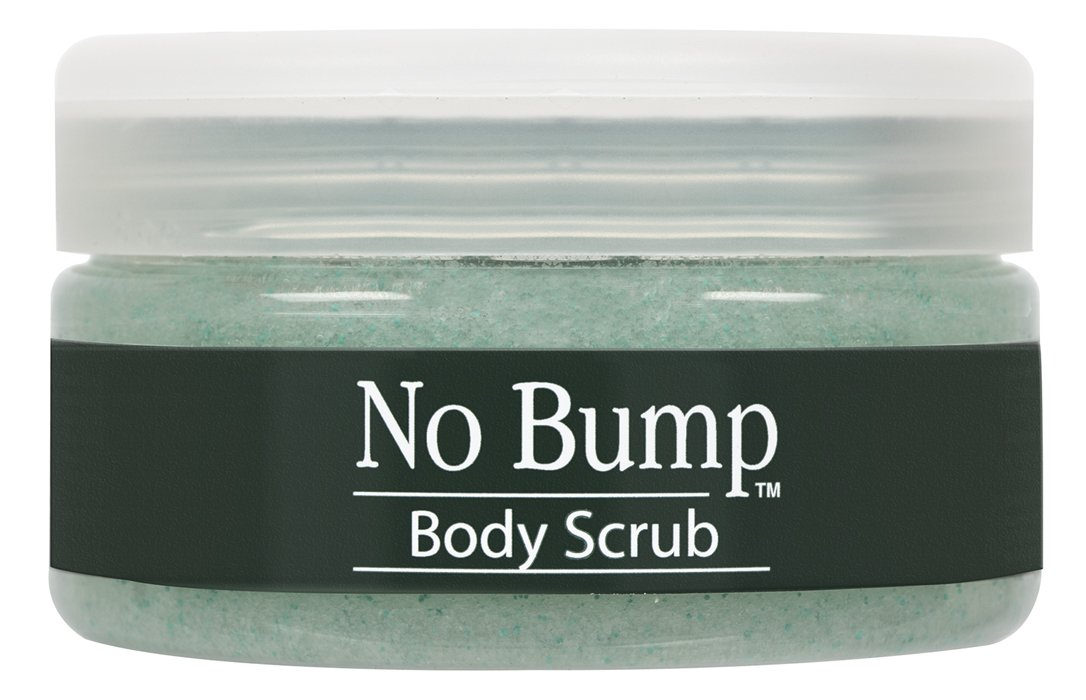 GiGi No Bump Body Scrub with Salicylic Acid for Ingrown Hair & Razor Burns, 6 oz