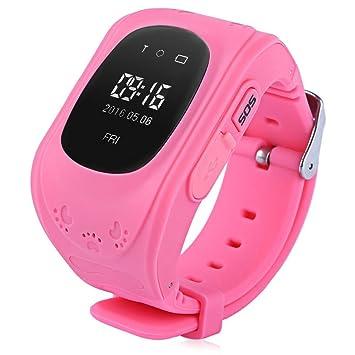 Q50 inteligente de los niños reloj de pulsera para muñeca anti-lost lbs Tracker SOS