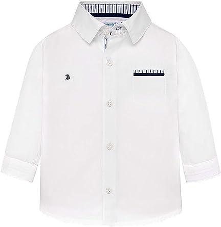 Mayoral, Camisa para bebé niño - 1134, Blanco: Amazon.es: Ropa y accesorios