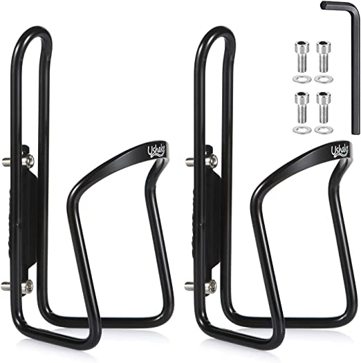 Bike Bicycle Cycling Plastic Water Sport Bottles Holder Cage Black W5X2