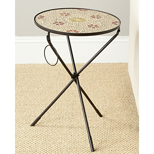Safavieh Home Collection Cymbeline Gold Side Table