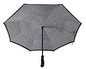 "BETTER BRELLA Wind-Proof, Reverse Open, Upside Down 41.5"" wide Umbrella"