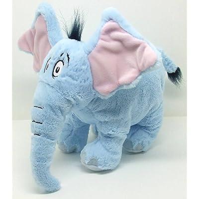 "Dr. Seuss Horton Hears A Who 12"" Plush Elephant: Toys & Games"
