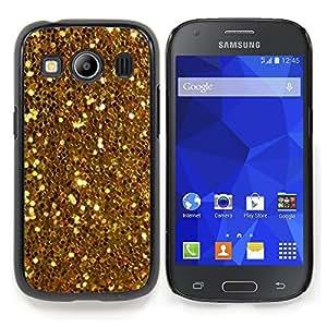 For Samsung Galaxy Ace Style LTE/ G357 Case , Brillantes Glitter Treasure Amarillo Monedas - Diseño Patrón Teléfono Caso Cubierta Case Bumper Duro Protección Case Cover Funda