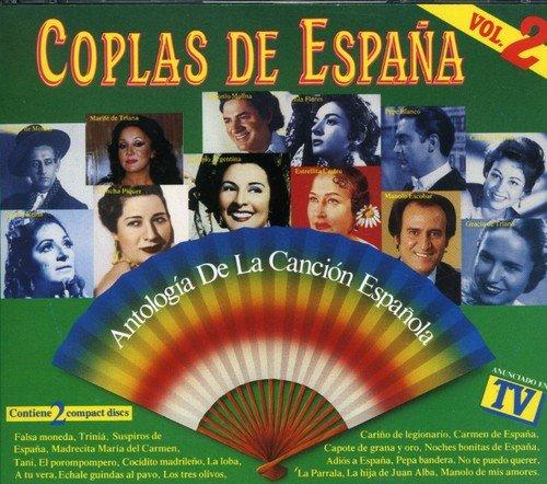 Coplas De España V.2 -Antol.Can.Española: Antologia de la Cancion ...