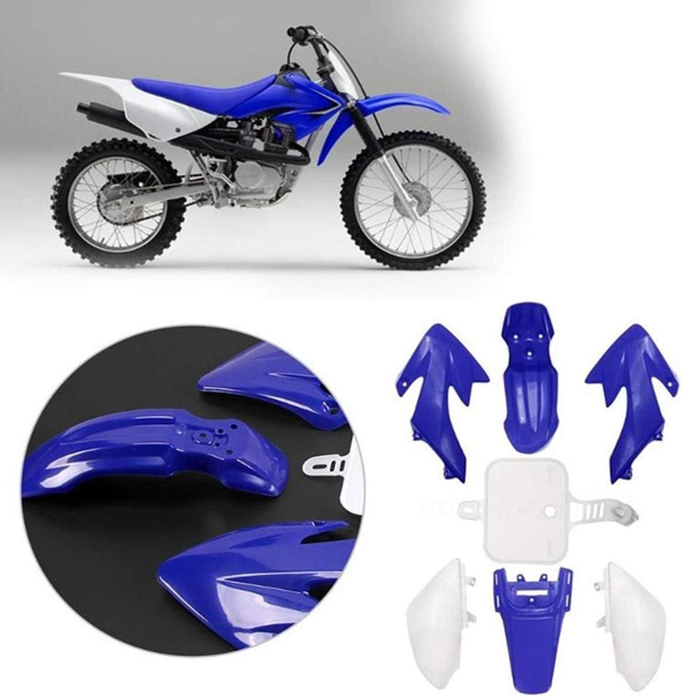 Podoy XR50 Blue Plastic Fender Kit Compatible With Honda CRF50 CRF XR SDG SSR 107 125 Dirt Pit Bike Body Work Fairing with Bolt